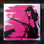 Pinup Warrior Giclee Print