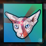 Sphinx Cat Giclee Print