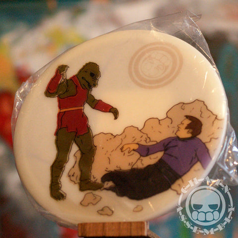 """Kirk vs Gorn,"" Limited Edition Dyemax Disc"