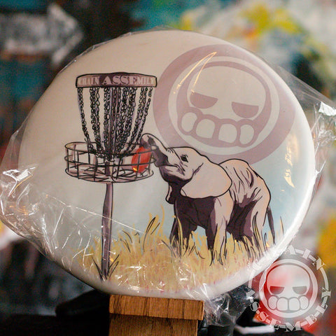 """Elephant,"" Limited Edition Dyemax Disc"