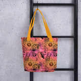 Illustration Pattern Tote bag