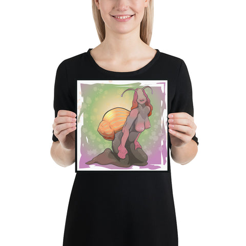 Sexy Snail Giclee Print