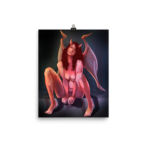 Devil Woman Giclée Print
