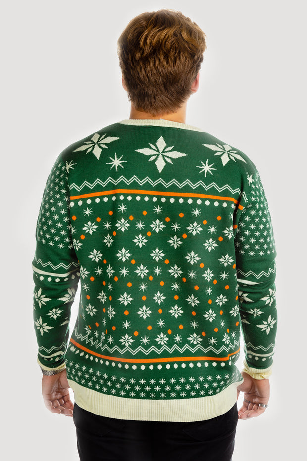 Jägermeister Ugly Sweater by Shinesty - Men's