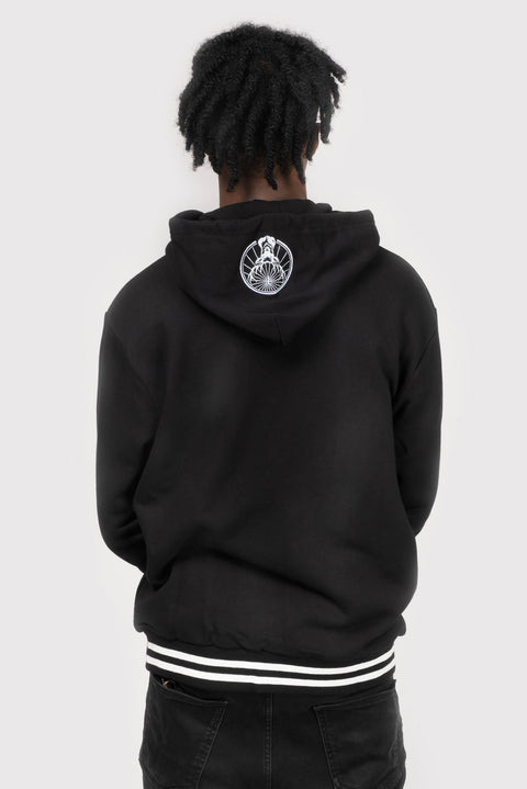 Jägermeister Hooded Jacket with Small Stag