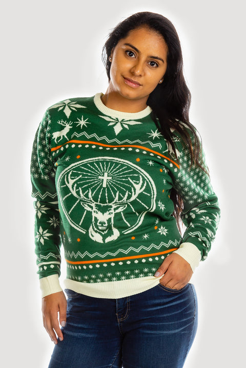 Jägermeister Ugly Sweater by Shinesty - Women's