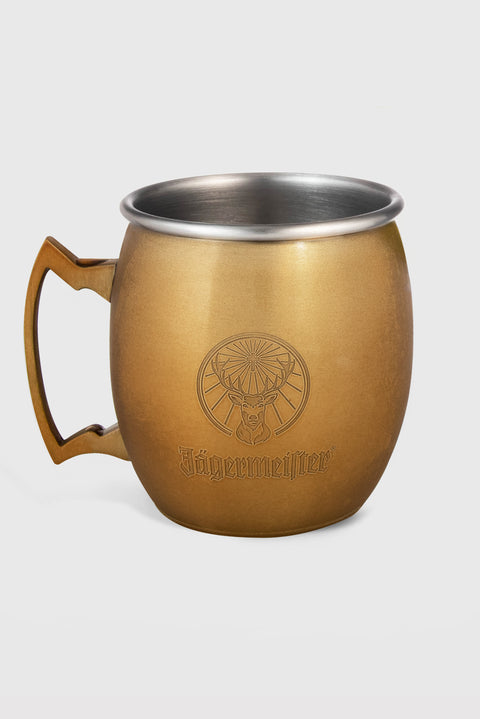 Jägermeister Gold Berlin Mule Mugs - Set of 2