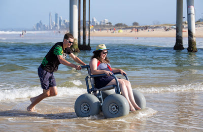 BWA All Terrain Chair – Beach Wheelchair