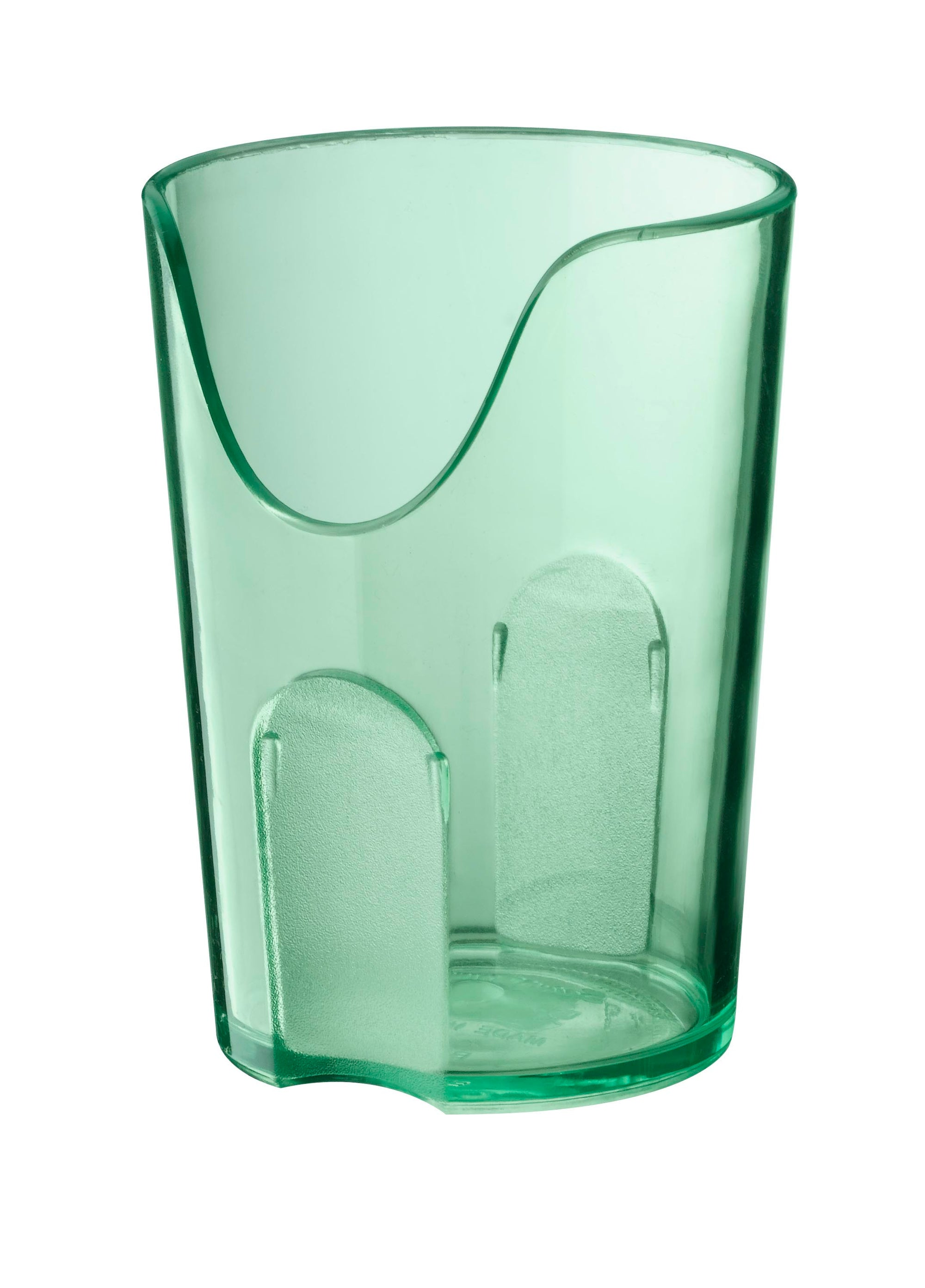 Glass with nasal cut-out
