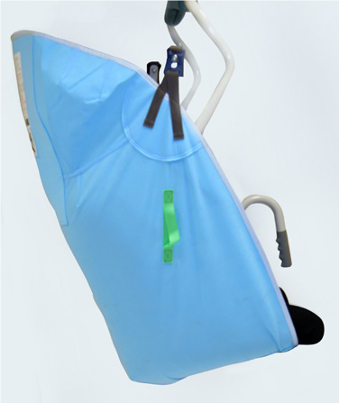 Disposable High Easy Amputee Sling - Clips