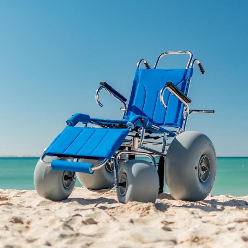 Sandcruiser® All Terrain Chair – Beach Wheelchair