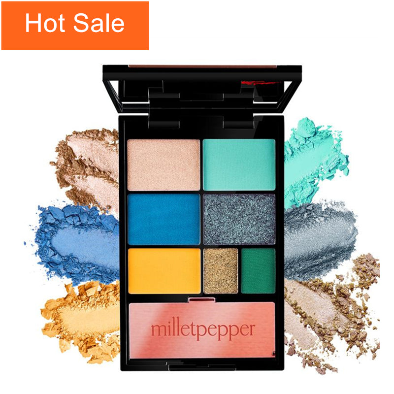 milletpepper BLUES Eyeshadow Palette 7  Shades