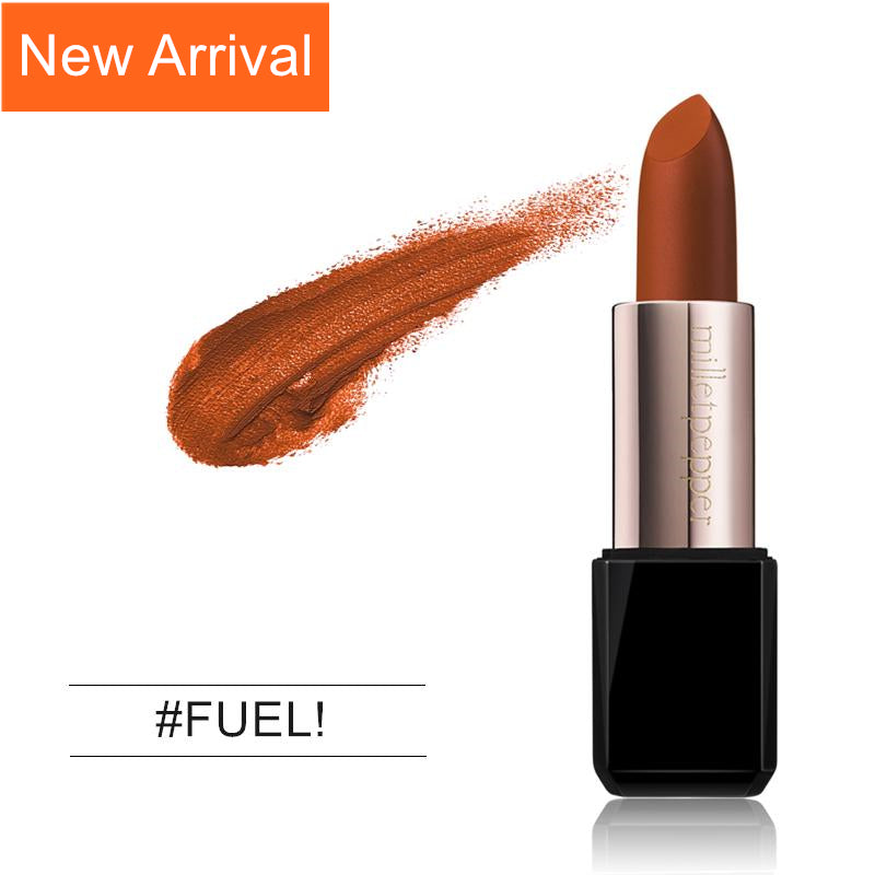 New Arrival FEUL! Lipstick Moisturized Cinnabar Orange Color