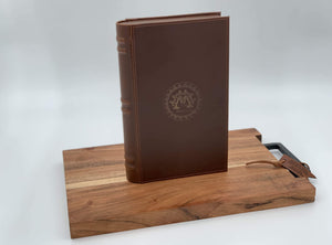Montero 1939 - Leather Humidor Book With (5) Cigars And Cigar Cutter