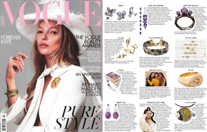 Nuni Copenhagen i BRITISH VOGUE May issue