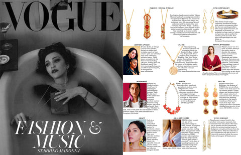 Nuni I BRITISH VOGUE June Issue