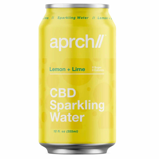 Aprch CBD 30mg Lemon Lime Sparkling Water