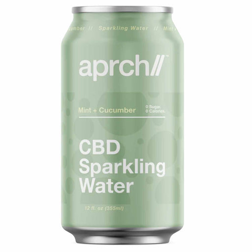 Aprch CBD 30mg Mint Cucumber Sparkling Water