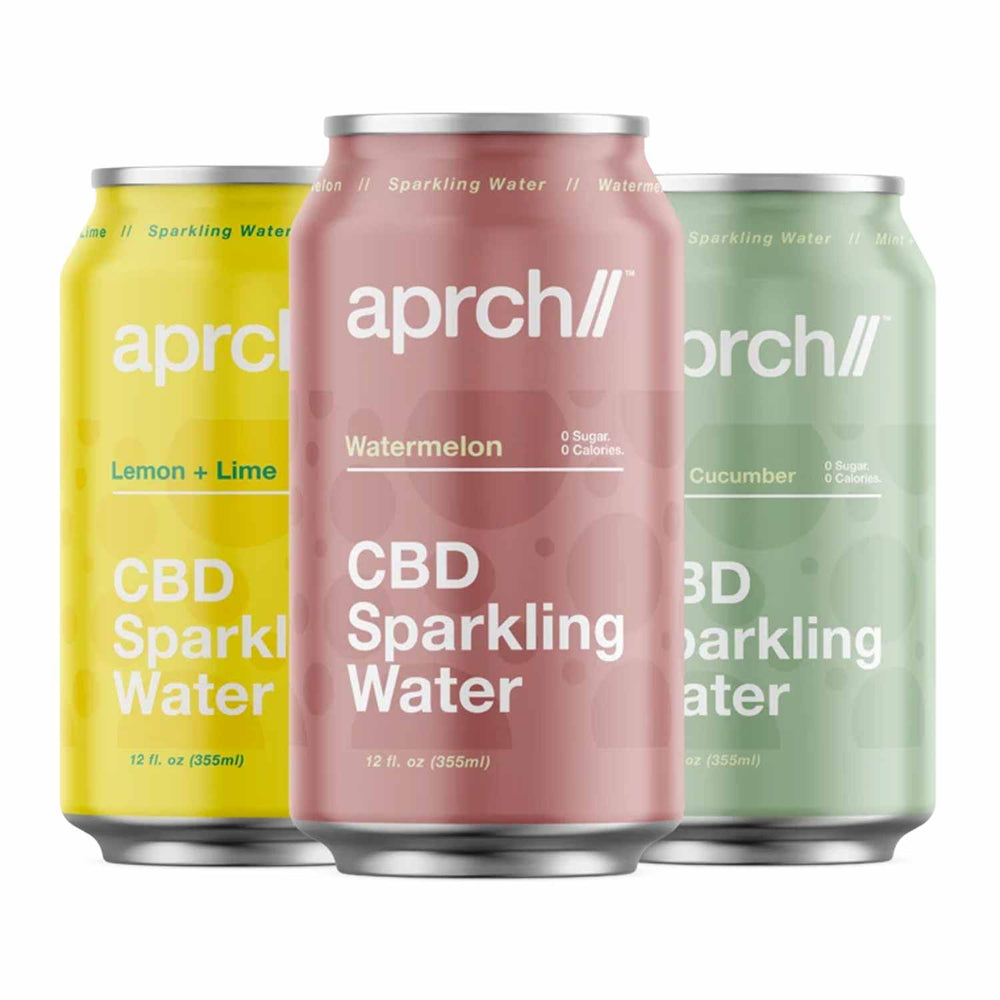 Aprch CBD 30mg Sparkling Water Variety Pack