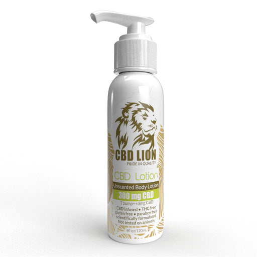 CBD Lion Lotion 300mg