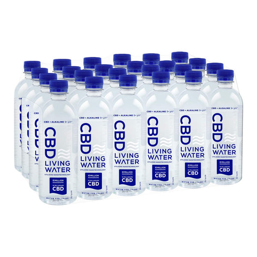 CBD Living 10mg Nano CBD Alkaline Water 24 Pack