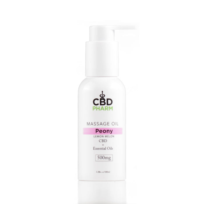 CBD Pharm 500mg Massage Oil