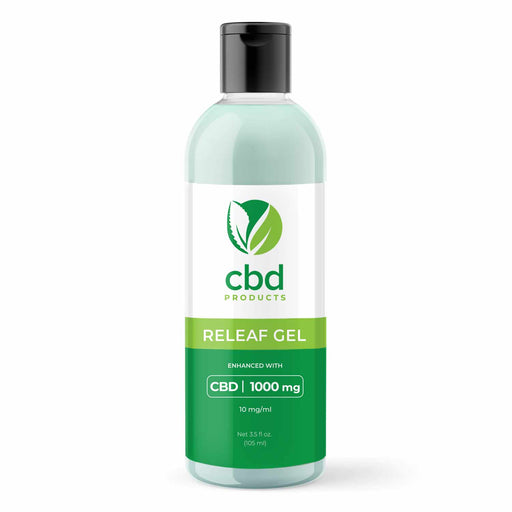 CBD Products 1000mg Releaf Gel