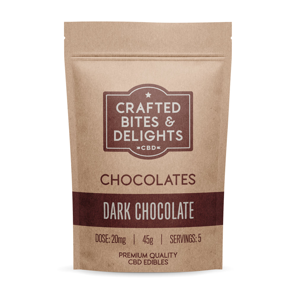Crafted Bites & Delights Dark Chocolate