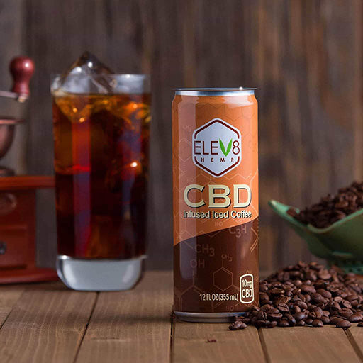 Elev8 Hemp CBD Infused Coffee Single