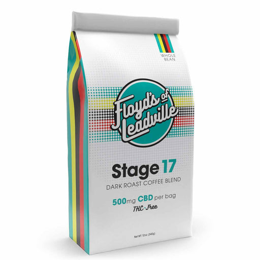 Floyd's of Leadville Stage 17 Dark Roast 500mg CBD Infused Coffee