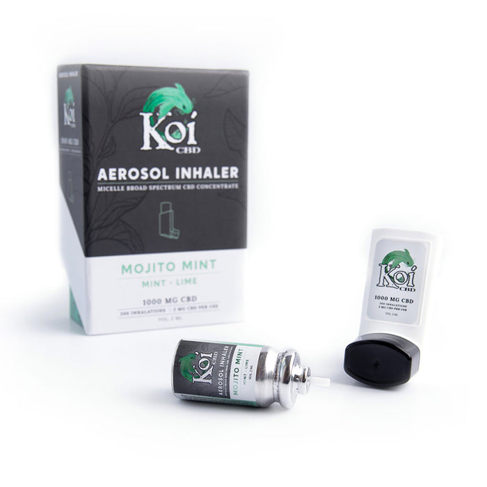 Koi Broad Spectrum 1000mg CBD Inhaler Mojito Mint