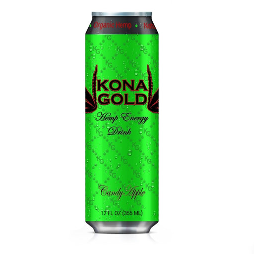 Kona Gold Hemp Energy Drink Candy Apple