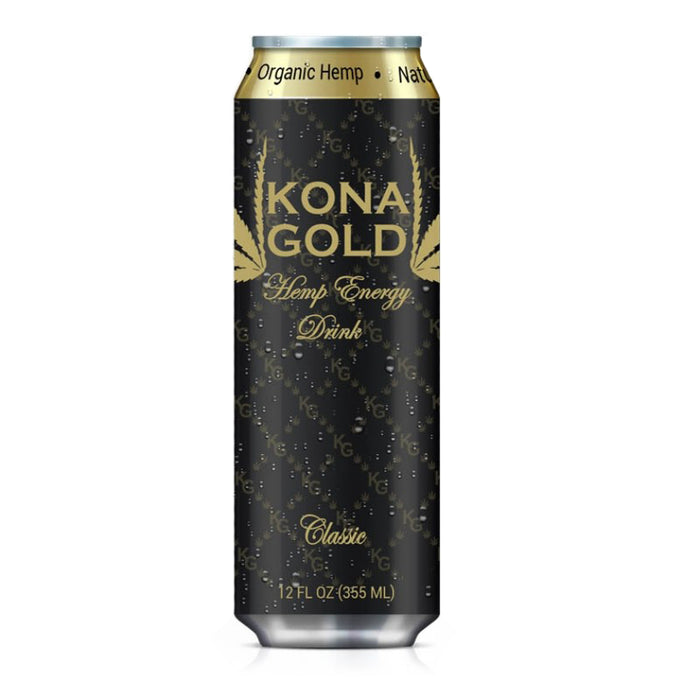 Kona Gold Hemp Energy Drink Classic