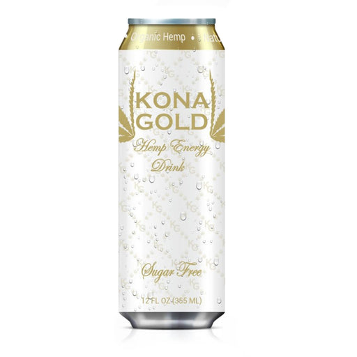 Kona Gold Hemp Energy Drink Sugar Free