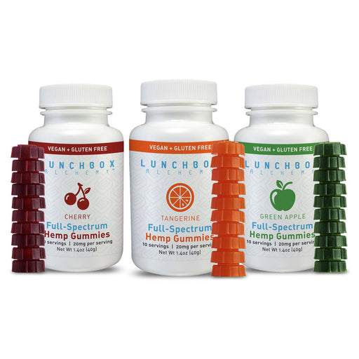 Lunchbox Alchemy Full Spectrum 10ct 200mg Gummies