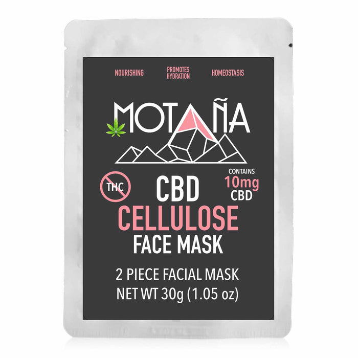 Motana CBD 10mg Broad Spectrum Cellulose Face Mask