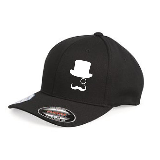 Mr CBD Black Fitted Hat
