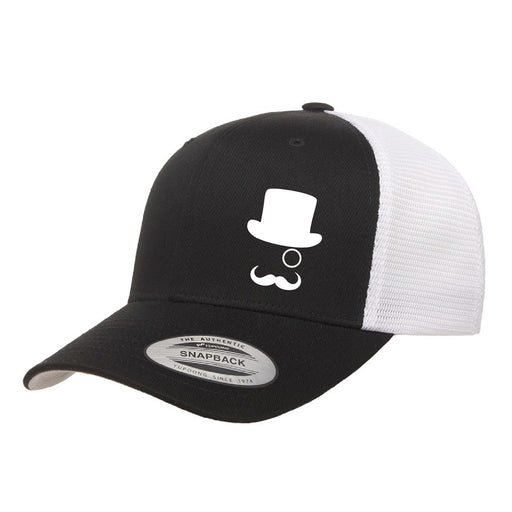 Mr CBD Black Snap Back Hat