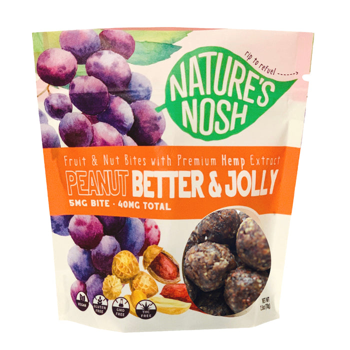 Natures Nosh Peanut Better Jolly & Natural Recovery Greens Bundle