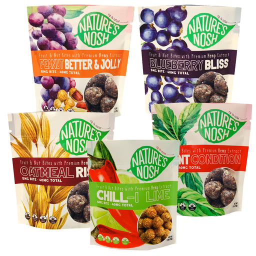 Nature's Nosh Hemp Nut & Fruit Bites