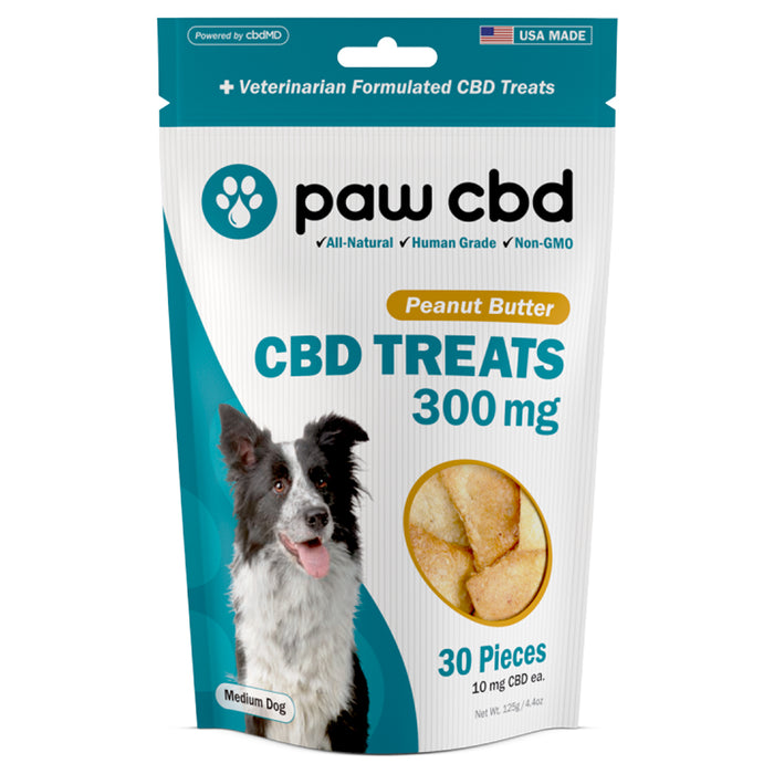 Paw CBD Peanut Butter Hard Chew Dog Treats