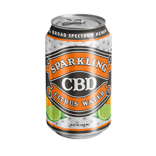 Sparkling CBD Beverages 20mg Broad Spectrum Citrus