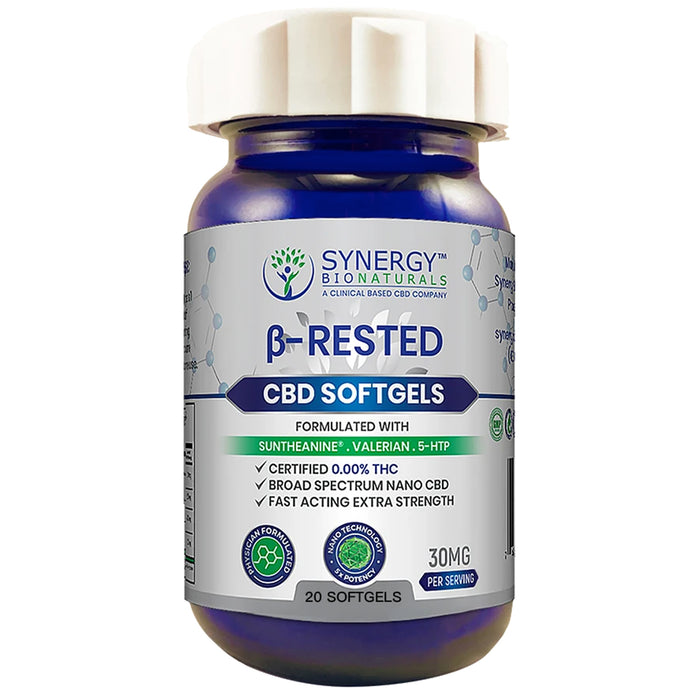 Synergy-BioNaturals-30mg-CBD-Rested-Soft-Gels-5-Day