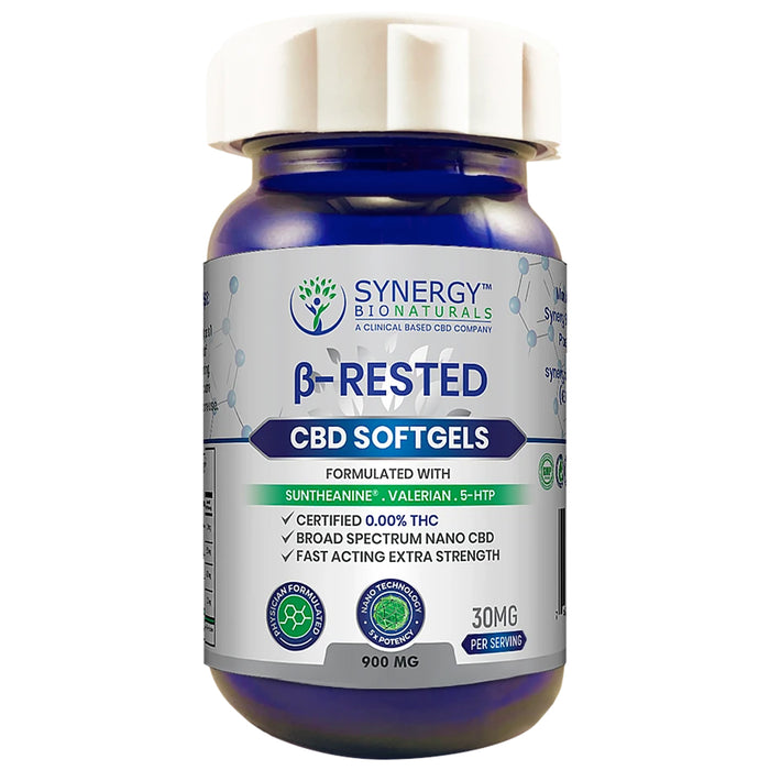 Synergy-BioNaturals-30mg-CBD-Rested-Soft-Gels-900mg