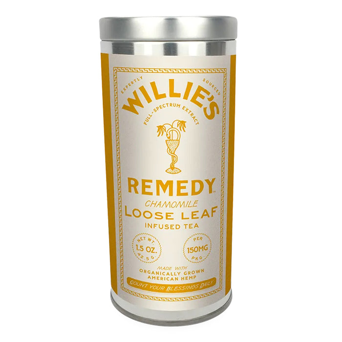 Willie's Remedy Loose Leaf 150mg CBD 1.5oz Chamomile Tea