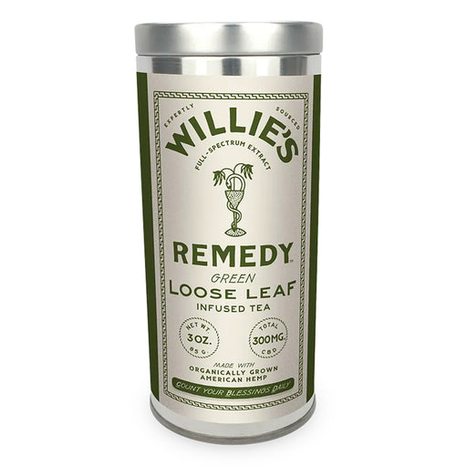 Willie's Remedy Loose Leaf 300mg CBD 3oz Green Tea