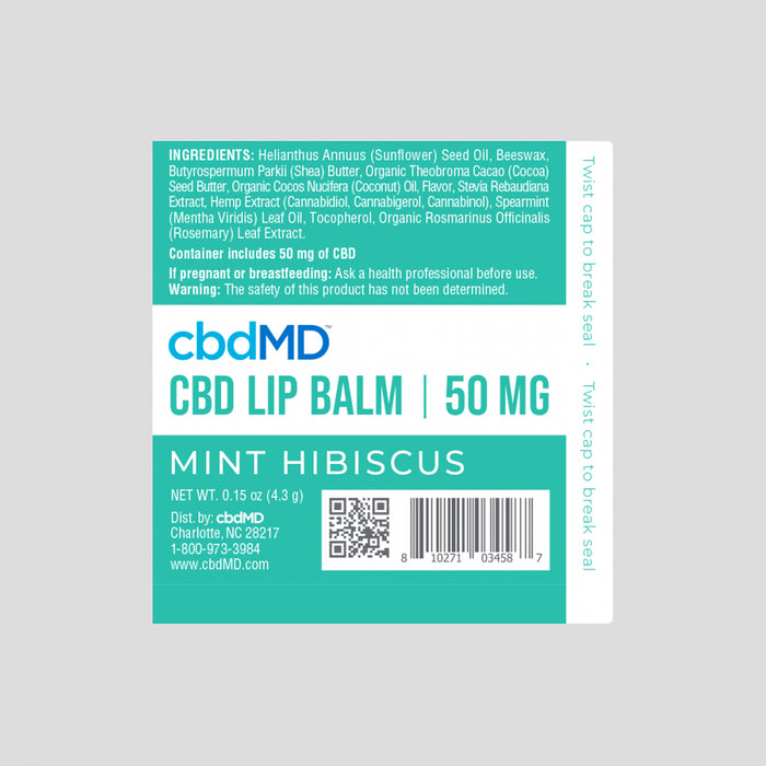 cbdMD 50mg Broad Spectrum CBD Lip Balm Variety Pack