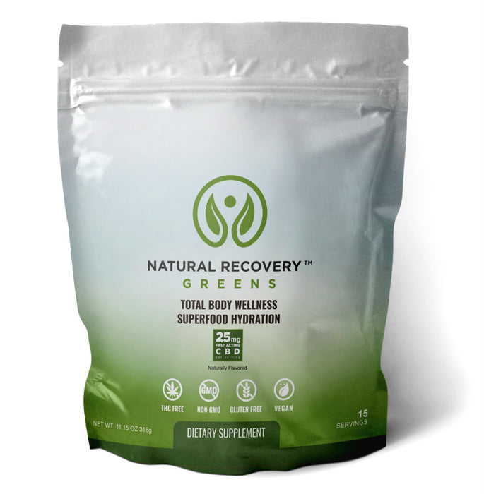 Natural Recovery Greens 15 Pack