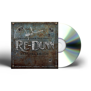 Autographed Re-Dunn CD