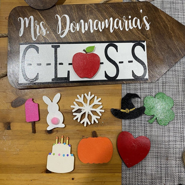 primary school decorations personalized state wall hangings